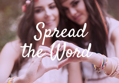 Jewels spread-the-word